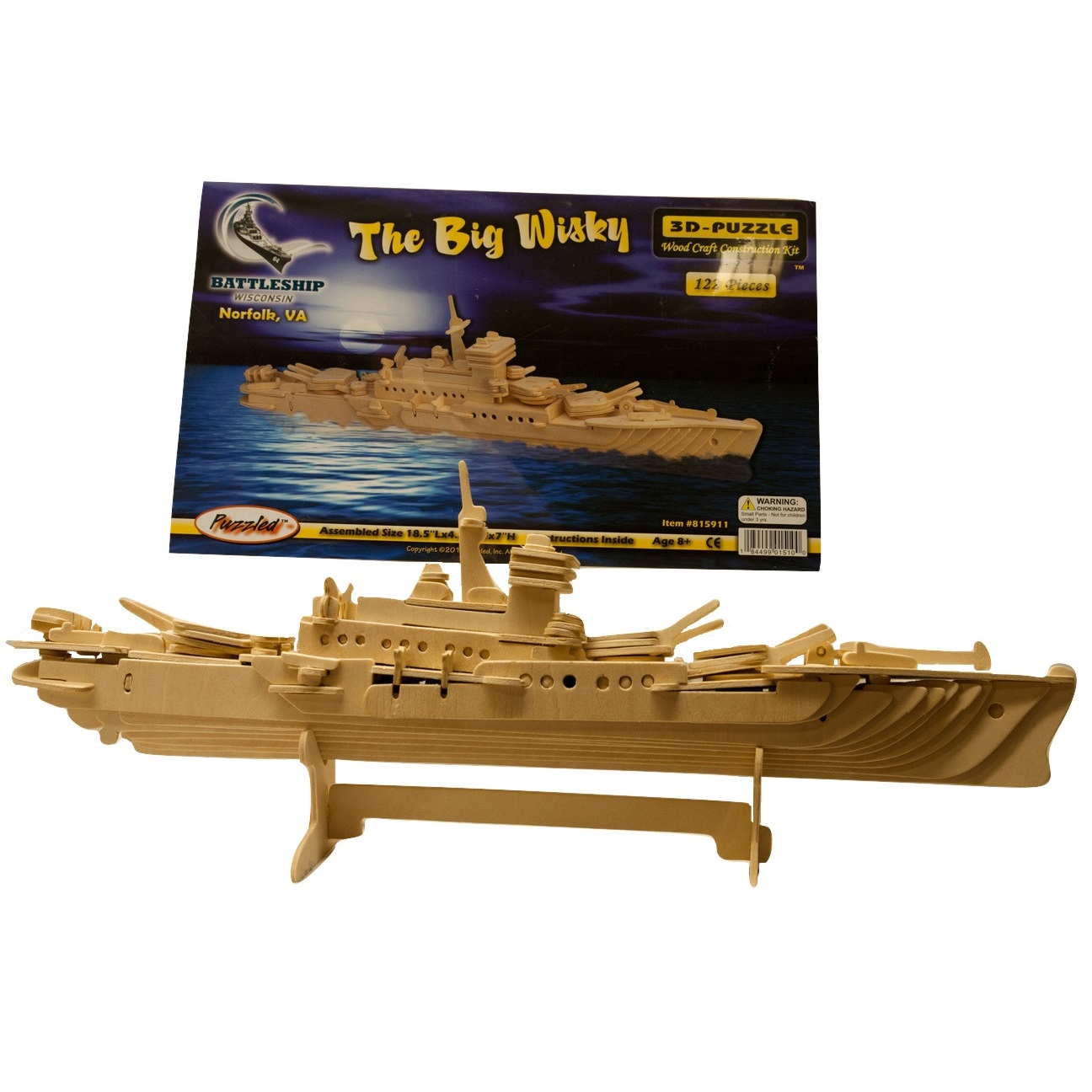 Diy Wooden Wisconsin Model Ship