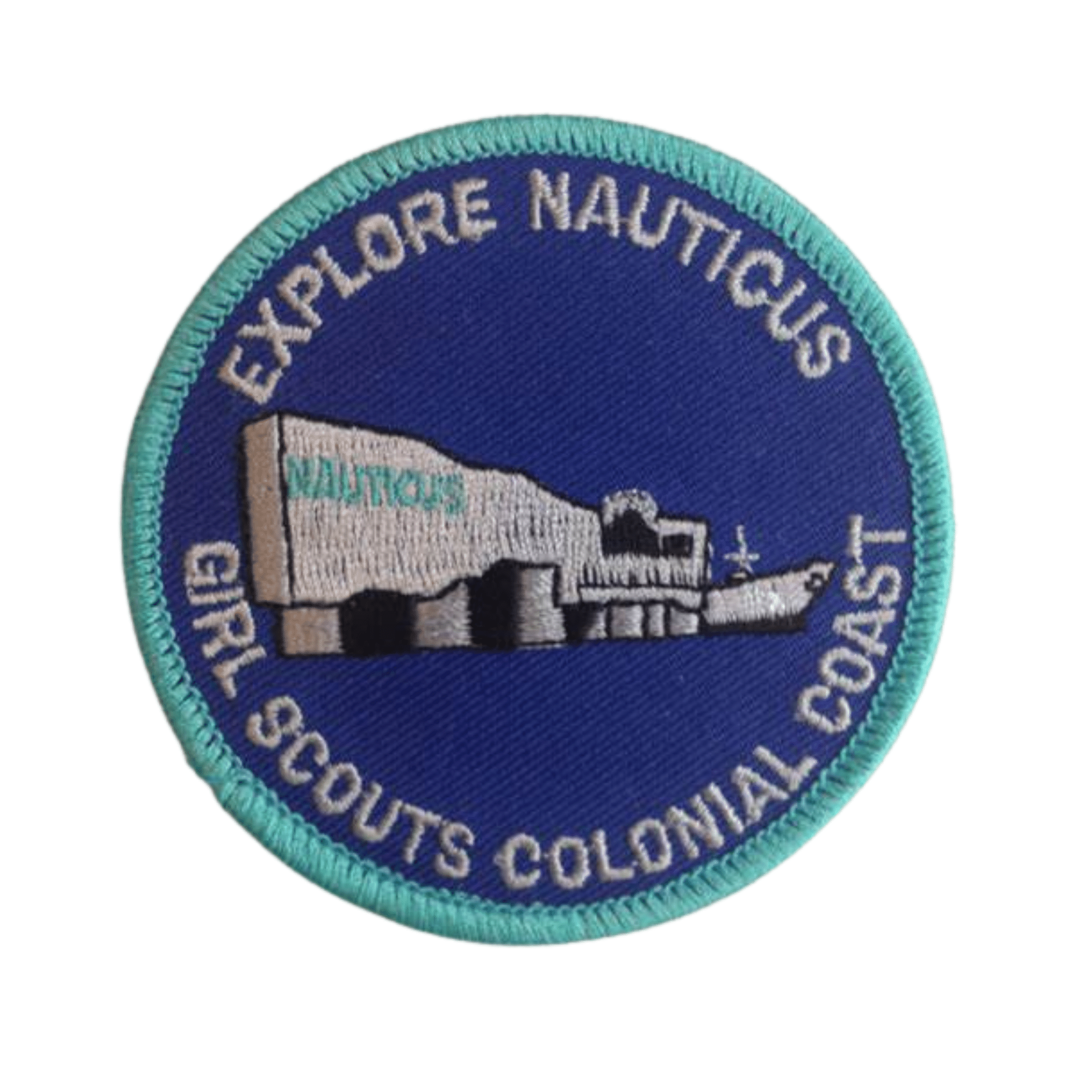 Explore Nauticus Girl Scouts Patch